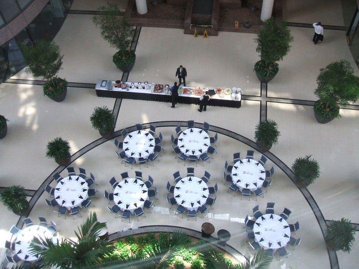 Tmx Atrium I Above View 51 179020 158714708873388 Tampa, FL wedding venue