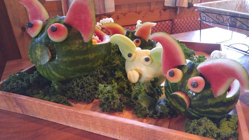 Piggy fruit bowls