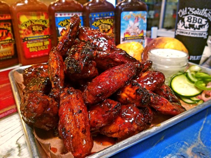 Bbq wing appetizers