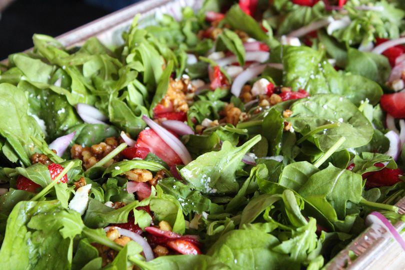 Farmhouse garden salad
