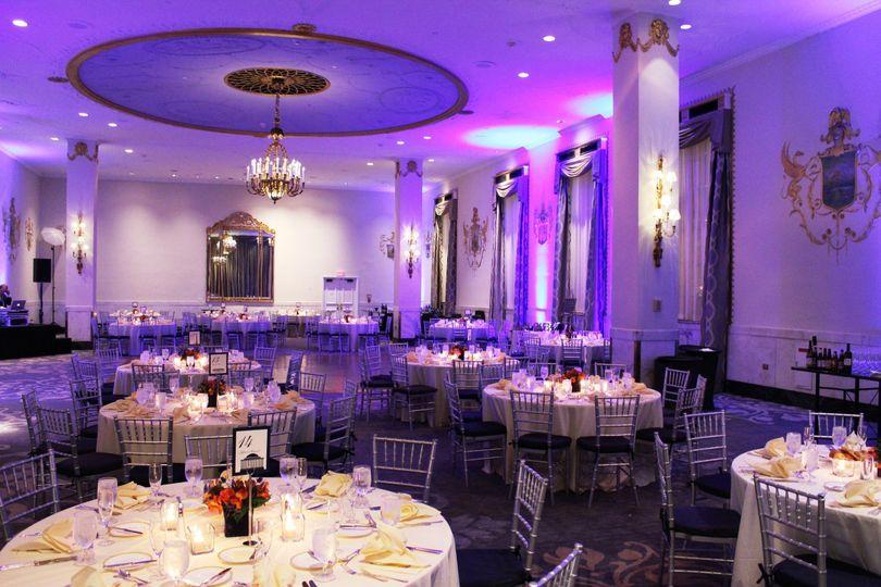 State Ballroom Wedding Reception (Dinner/Dance)