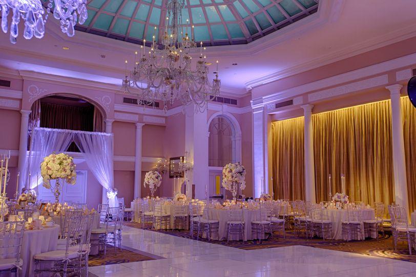 side purple reception