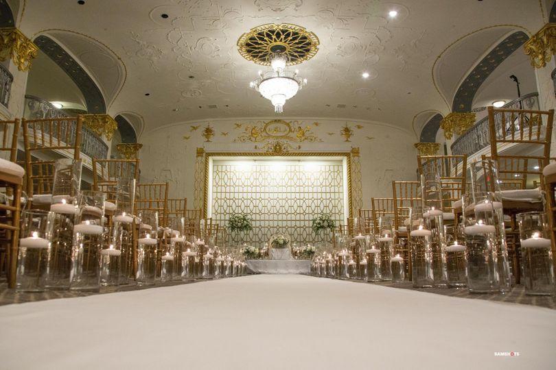 Grand Ballroom Ceremony Capacity 150-450 Guests