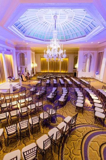 Palm Court BallroomCeremony Capacity:  50 - 200 Guests