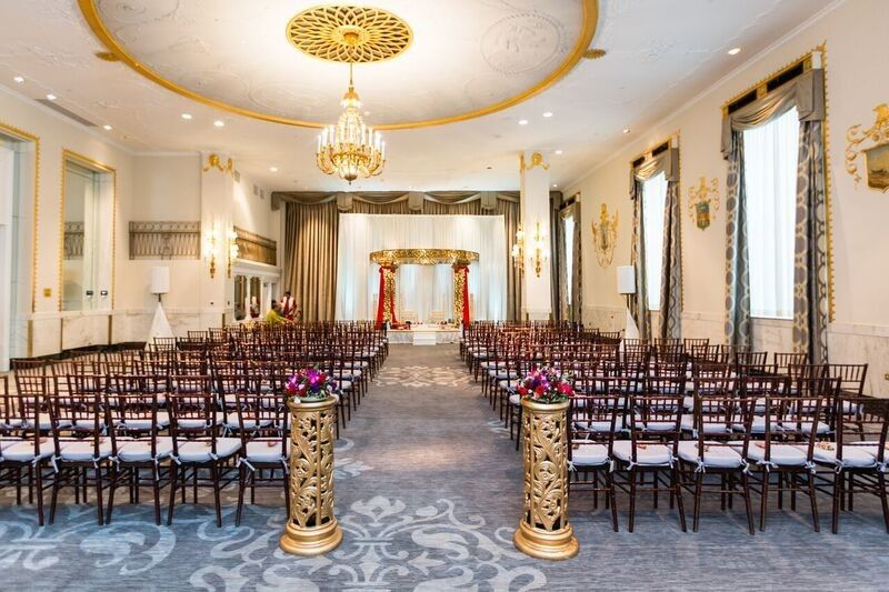 State Room Ceremony Capacity:  150 - 300 Guests
