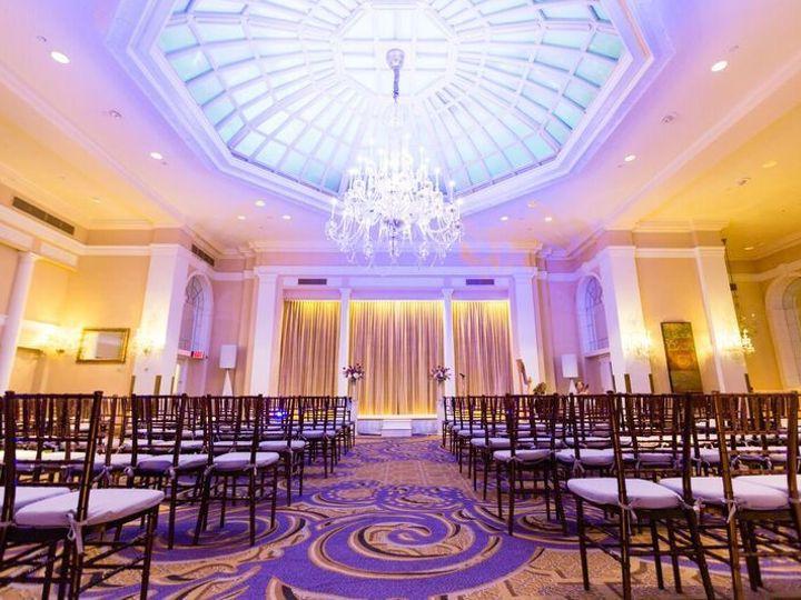 Tmx 1522019867 E163bf86b15c6ed9 1522019866 Ba6902013d9fa7e1 1522019867515 1 Palm Court Ceremon Washington, DC wedding venue