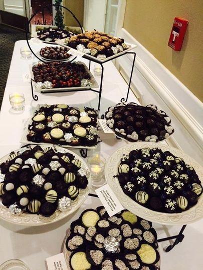 snowflake chocolate buffet 51 783120