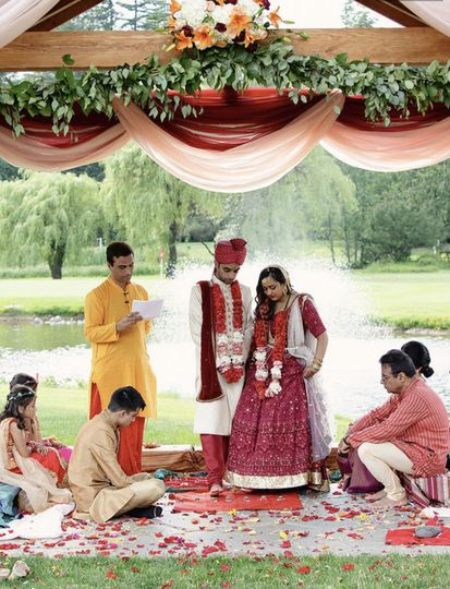 Mandap, Indian Wedding