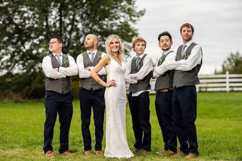 Bride and the Boys