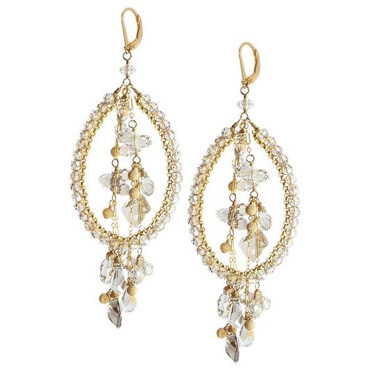 Rapture Earrings in Swarovski Crystal from the NEW Sophia & Chloe Couture Collection