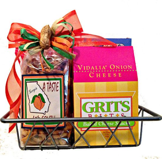 Give them a little  Taste of the South  with this Georgia gift basket.  sc 1 st  WeddingWire & Georgia Gifts u0026 More - Favors u0026 Gifts - Atlanta GA - WeddingWire
