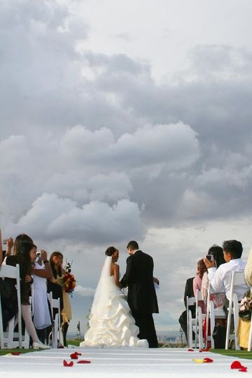Wedding Ceremony at Revere Golf Club