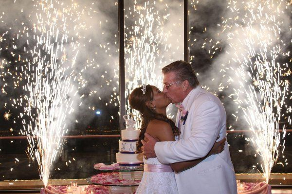 Cake cutting and fireworks at Anthem C.C.