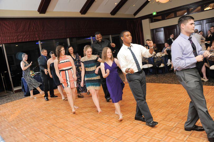 Line dance fun