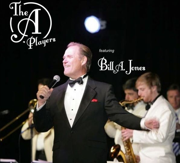 Bill A. Jones and The A Players, during a private event at the Pasadena Civic Center