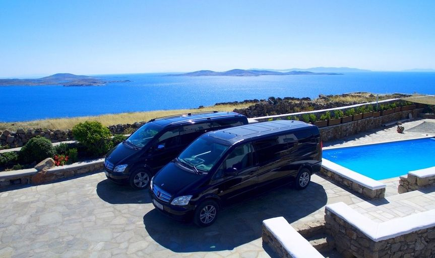 Mykonos Private Mini Van Services for events