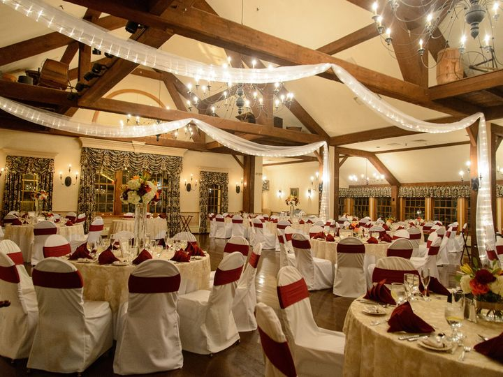 Tmx 1458321034828 Paige Hall Burgundy Sashes2 Sturbridge, MA wedding venue