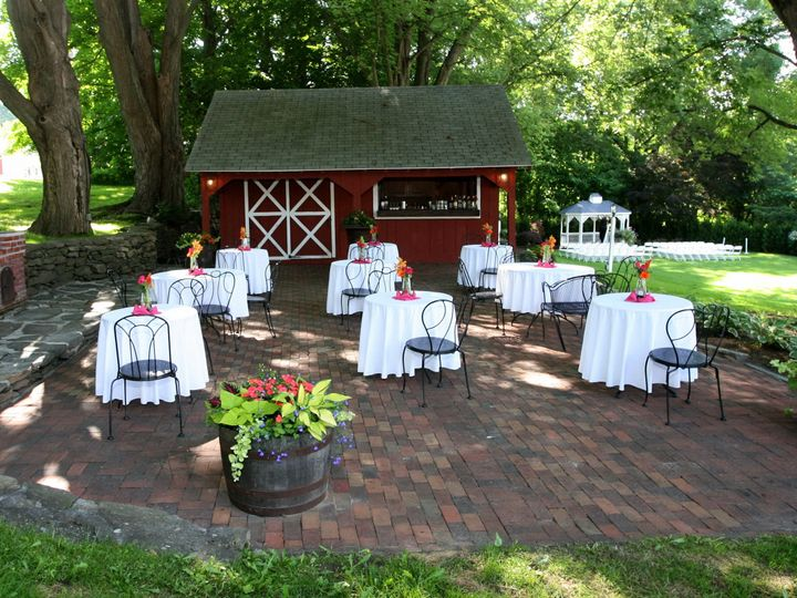 Tmx 1458657775077 Red Barn Patio With Gazebo In Background Sturbridge, MA wedding venue