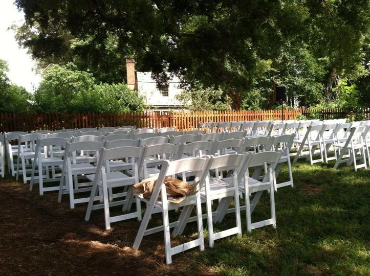 Chairs setting