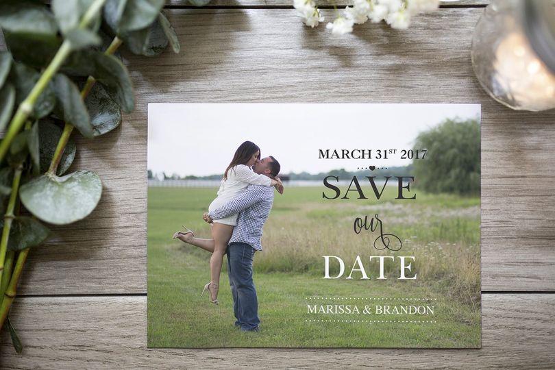 Marissa save the date