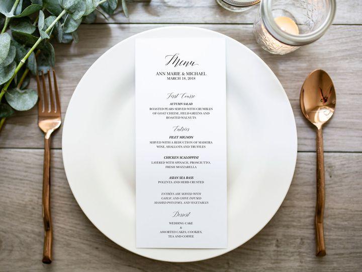 Tmx Ann Marie 1 2 51 966220 Wharton, NJ wedding invitation