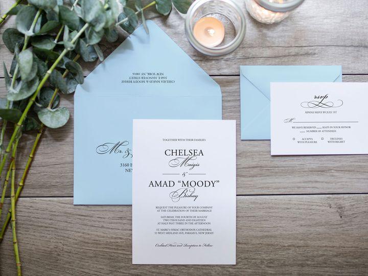 Tmx Chelsea 1a 51 966220 Wharton, NJ wedding invitation