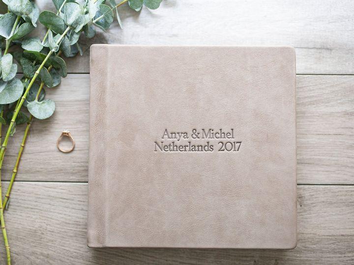 Tmx Wedding Album Debossed Leather Cover 2 51 966220 Wharton, NJ wedding invitation