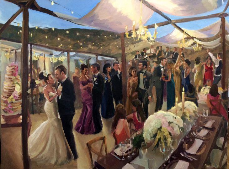 A banquet party