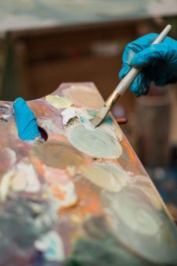 Laura Jane Fine Art | Live Wedding Painter