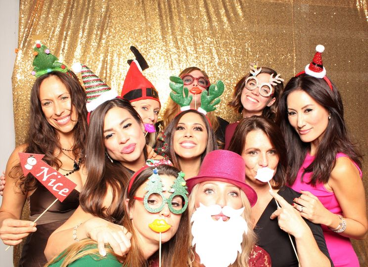 Photo Booth Event Christmas