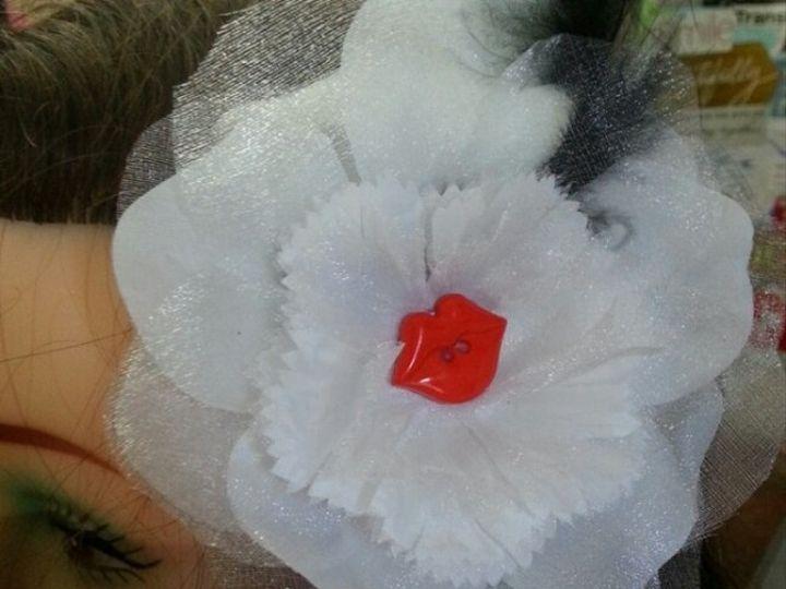 Tmx 1425670610144 White Passion Kiss Fascinator Des Moines wedding favor