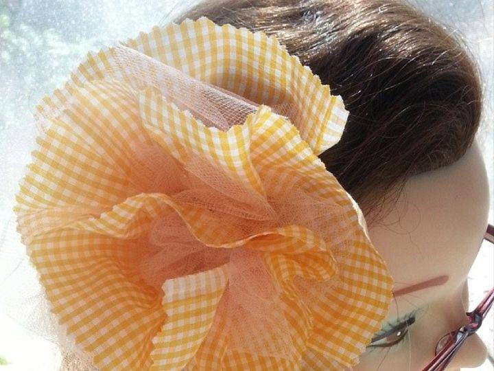 Tmx 1425670723485 Light Pink Tulle Gingham Full Fabric Flower Fascin Des Moines wedding favor