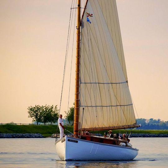 sail selina ii sailing charters st michaels md rom