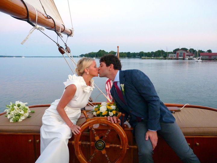 sail selina ii small wedding md st michaels md rom