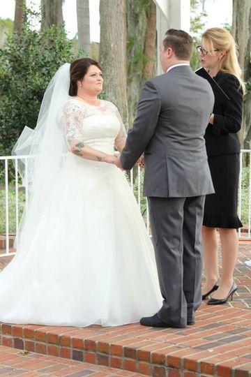 Partner holding hands