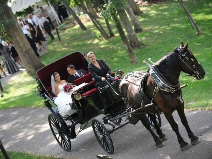 Tmx 1418742457409 Horse And Carriage Point Patio Galena wedding venue
