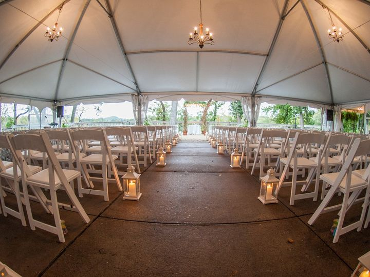 Tmx 1453410933974 Point Patio With Lanterns Galena wedding venue