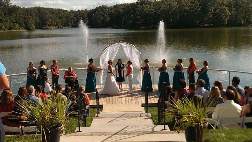 jill kristen ceremony pic