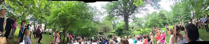 baker wedding panoramic