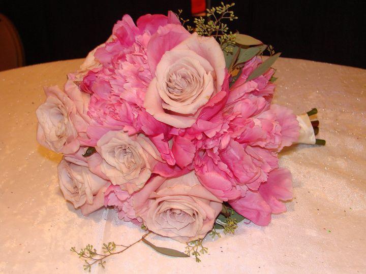 Pink handtied bouquet