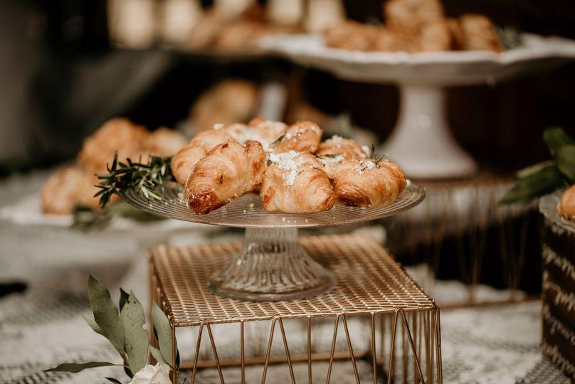 Gorgonzola Rosemary Croissant