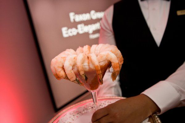 Shrimp with dip