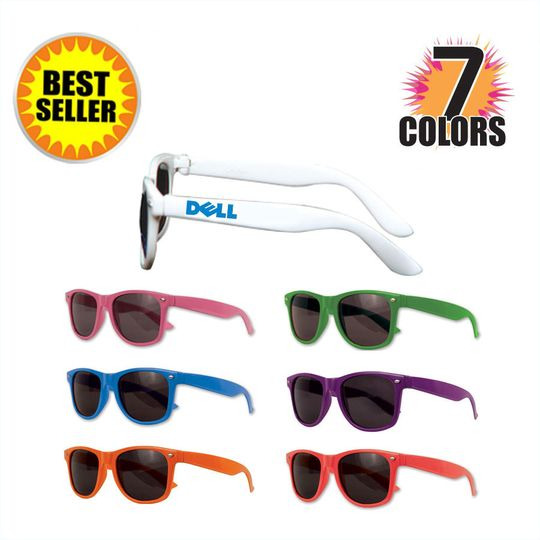 custom wayfarer sunglasses w 7 colors