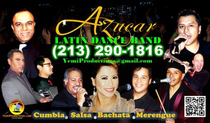 Azúcar Latin Dance Band: Cumbia Salsa Bachata Merengue