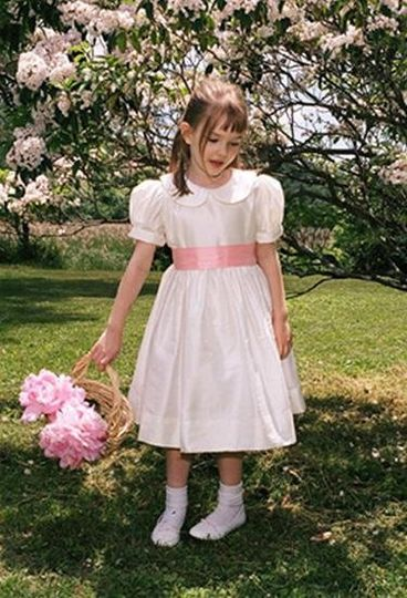 a little indulgence offers classic designed flower girl dresses for your wedding