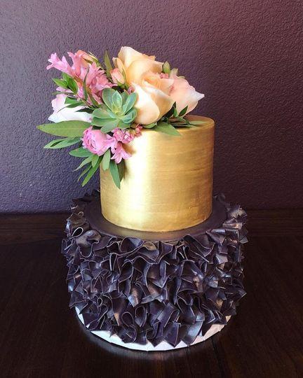 Spiky cake