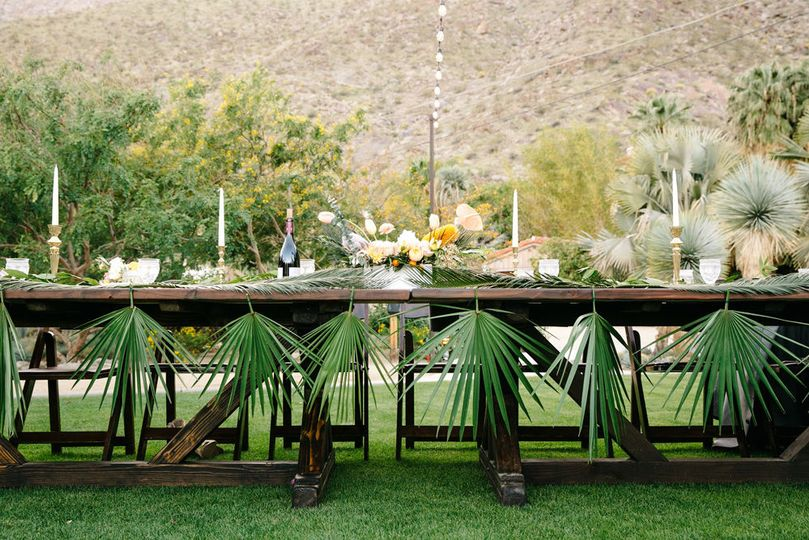 Wedding decor, colony 29, wedding venue, wedding planning, day-of, palm springs wedding