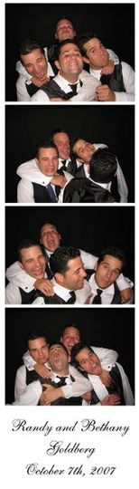 Chicago Wedding Photo Booth from Photo Booth Express - Traditional Photo Strip Option