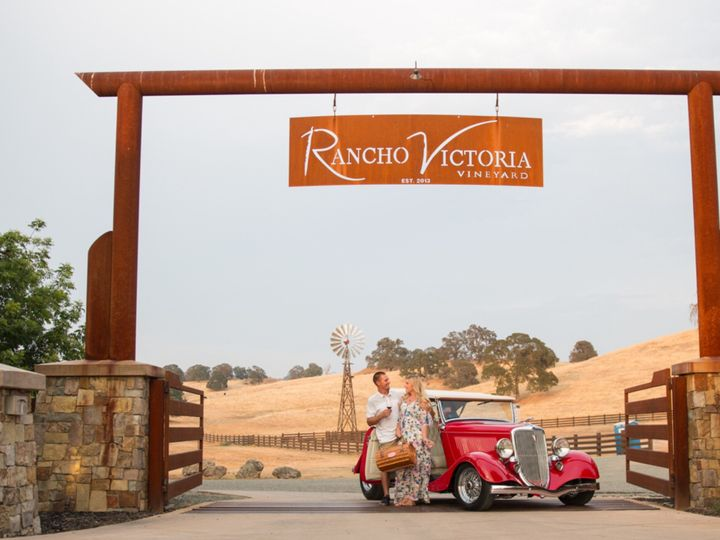 The ranch main entrance