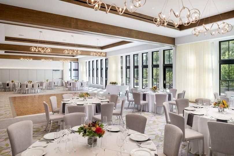 Ballroom with Linen